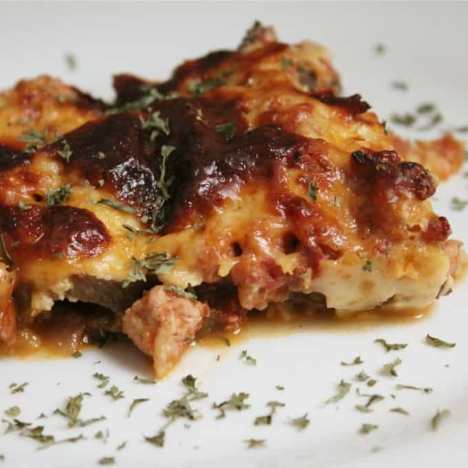 Moussaka (Greek Eggplant Casserole) - Cooks Recipe Collection