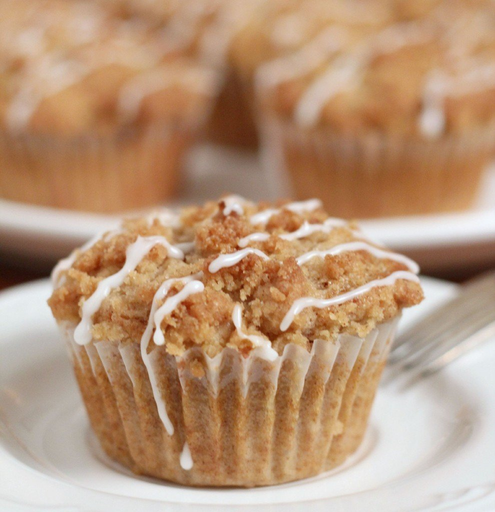Coffee Cake Cupcakes • Cooks Recipe Collection