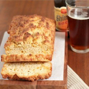 Whole Wheat Cheddar Cheese Beer Bread