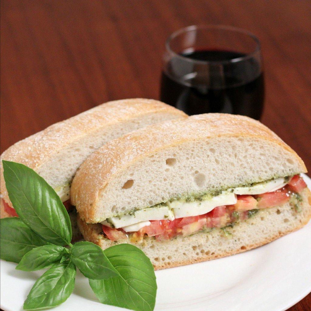 Caprese Sandwiches