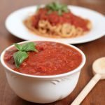 Slow Cooker Marinara Sauce Recipe
