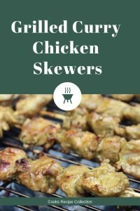 Grilled Curry Chicken Skewers