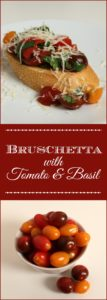 This Classic Bruschetta recipe with tomato and basil is so quick and easy to make