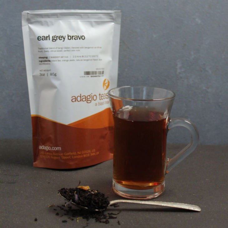 Adagio Teas Loose Tea Review - Earl Grey Bravo