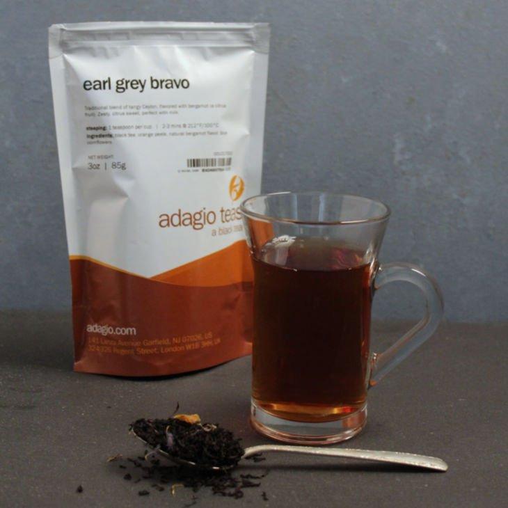 Adagio Teas Loose Tea Review - Earl Grey Bravo