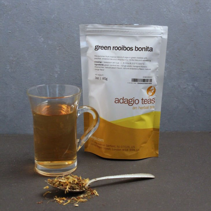 Adagio Teas Loose Tea Review - Green Rooibos Bonita