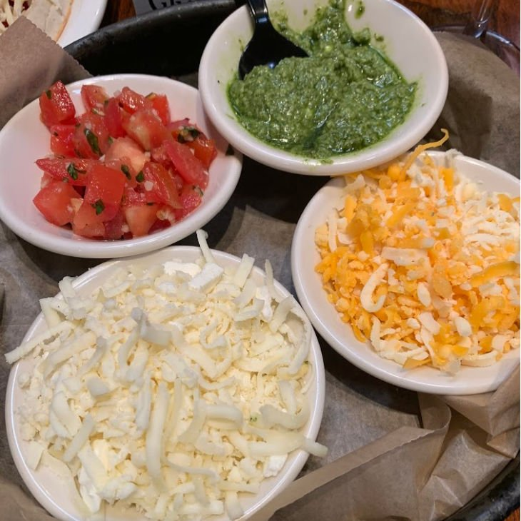 Four Cheese Deep Dish Pizza Ingredients