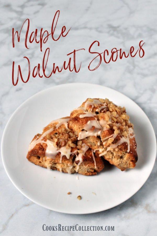 Maple Walnut Scones