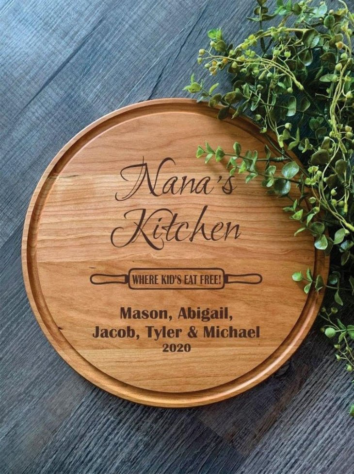 Nana's Kitchen Cutting Board