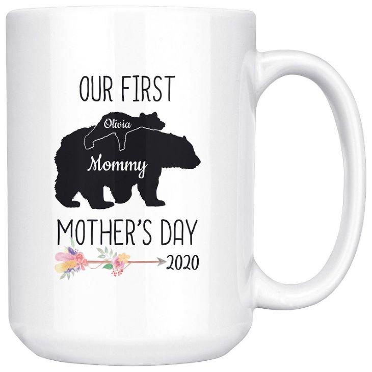 Personalized Our First Mother's Day Mug
