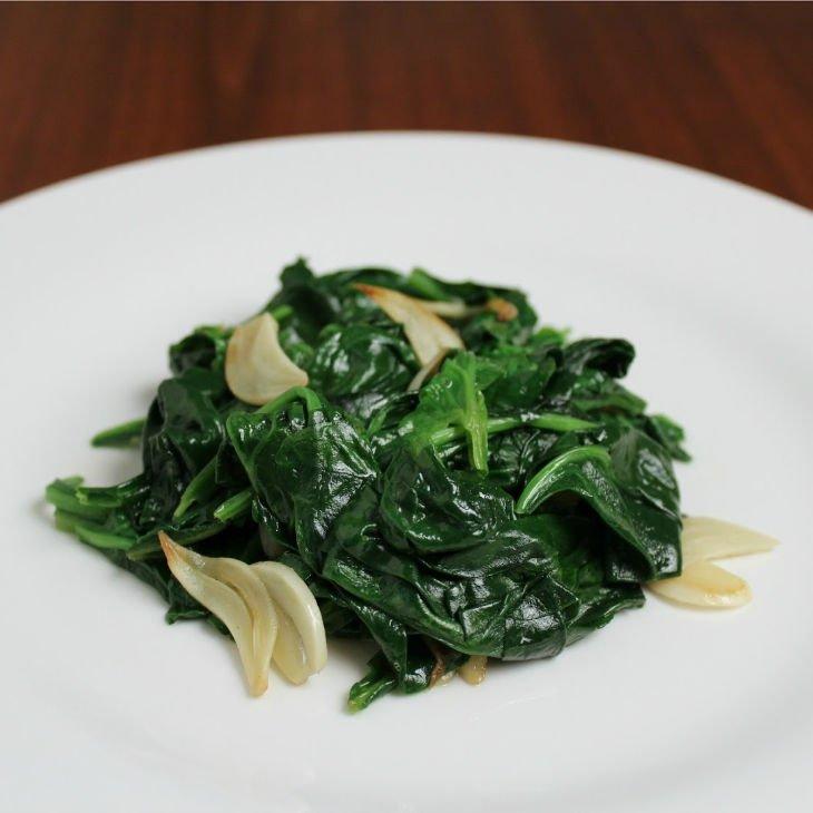 Sauteed Garlic Spinach Recipe